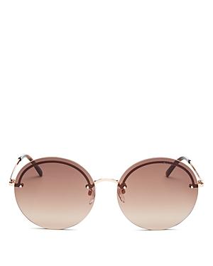 Marc Jacobs Women\\\'s Marc Rimless Round Sunglasses, 60mm