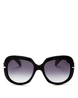 rag & bone - Women's Oversized Round Sunglasses, 55mm