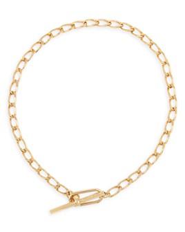 "ALLSAINTS - Link Toggle Necklace, 15"""