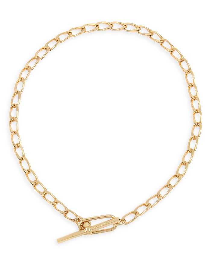 ALLSAINTS - Link Toggle Necklace, 15""