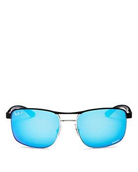 Ray-Ban - Men's Chromance Polarized Aviator Sunglasses, 58mm