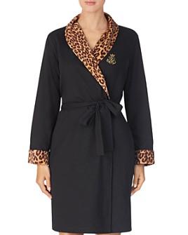 Ralph Lauren - Velour Lined Short Robe