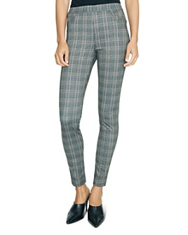 Sanctuary - Plaid Cropped Pants