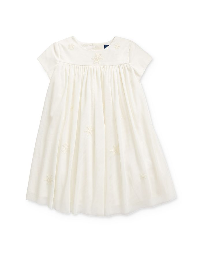 Ralph Lauren - Girls' Embroidered Snowflake Dress - Little Kid