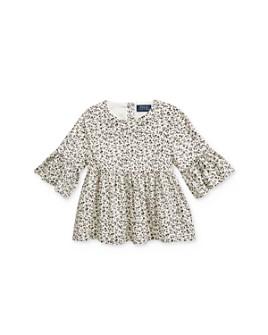 Ralph Lauren - Girls' Floral Bell-Sleeve Top - Little Kid
