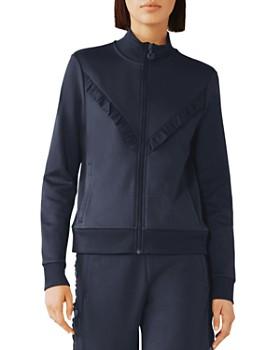 Tory Sport - Ruffled Track Jacket