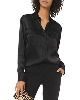 MICHAEL Michael Kors - Sateen Button-Down Shirt