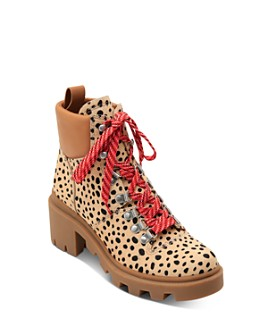 Dolce Vita - Women's Rubi Cheetah-Print Hiker Booties