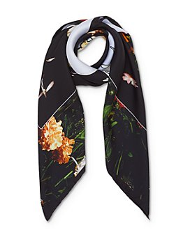 Burberry - Photo Sky Floral Silk Scarf