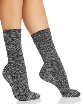 HUE - Super Soft Diamond Boot Socks
