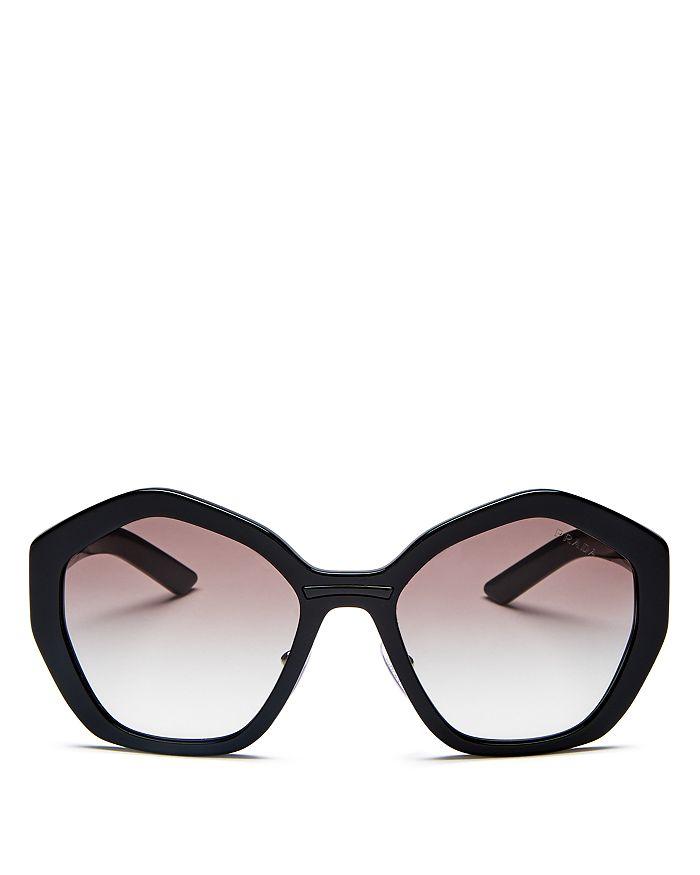 Prada - Women's Octagonal Sunglasses, 55mm