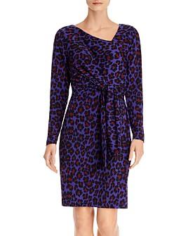 Leota - Celeste Floral Tie-Waist Dress