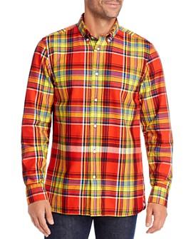 Tommy Hilfiger - Regular Fit Flannel Button-Down Shirt