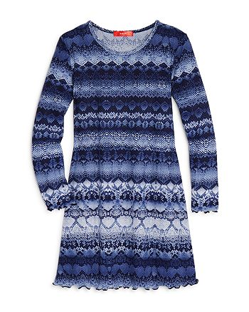 AQUA - Girls' Snakeskin Print Swing Dress, Big Kid - 100% Exclusive