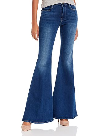 FRAME - Le High Super Flare Jeans in Cantine