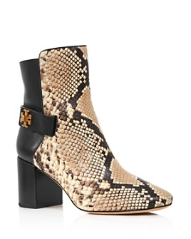 Tory Burch - Women's Kira Block Heel Booties - 100% Exclusive