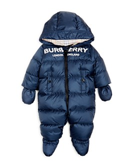 Burberry - Unisex Skylar Logo Hooded Snowsuit - Baby