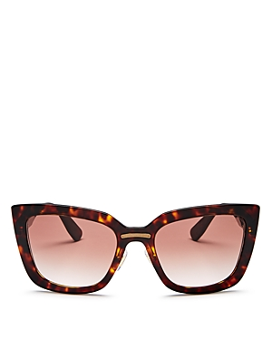 Miu Miu Women's Oversized Cat Eye Sunglasses, 55mm
