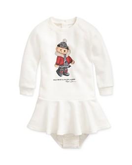 Ralph Lauren - Girls' Winter Bear Dress & Bloomers Set - Baby