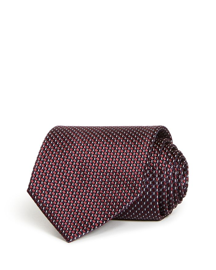 Ermenegildo Zegna - Geometric Silk Classic Tie