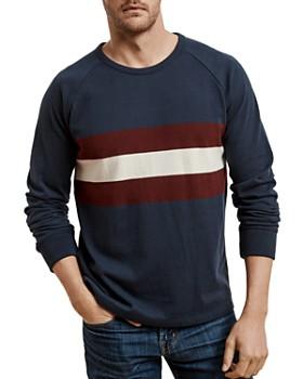 Velvet by Graham & Spencer - Striped Raglan Sweater