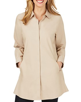 Foxcroft - Cotton Non-Iron Tunic Shirt