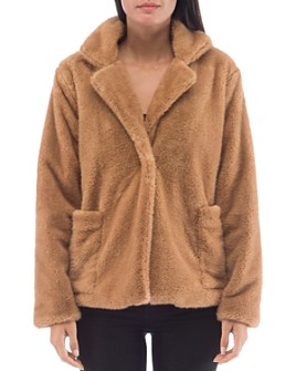 B Collection by Bobeau - Faux-Fur Jacket