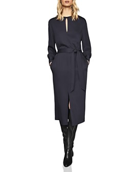 REISS - Inaya Belted Midi Dress - 100% Exclusive