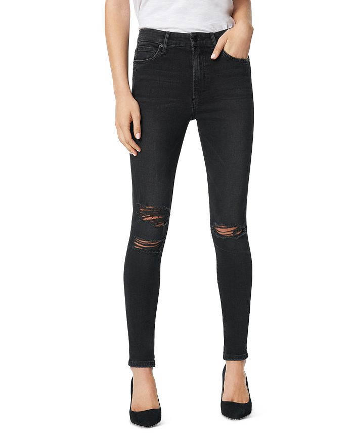 Joe's Jeans - The Charlie Distressed Skinny Ankle Jeans in Bandit