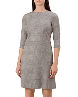 HOBBS LONDON - Sharon Glen Plaid Sheath Dress - 100% Exclusive