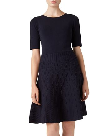 HOBBS LONDON - Orla Knit A-Line Dress