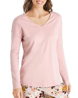 Hanro - Ami Cotton Long-Sleeve Top