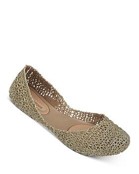 Melissa - Women's Campana Glitter Ballet Flats