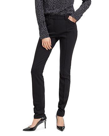 Barbara Bui - Roxy Pin-Tucked Slim-Leg Pants