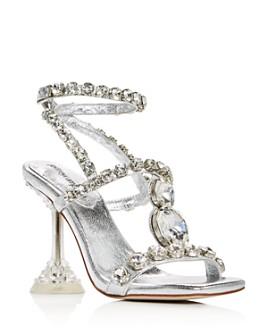 Jeffrey Campbell - Women's Anasta-LHH Gem Embellished High-Heel Sandals