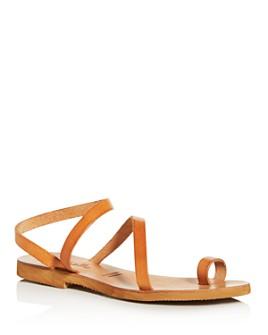 Cocobelle - Women's Crescent Toe-Ring Sandals