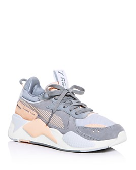 PUMA - Women's RS-X Unexpected Mixes Mixed-Media Low-Top Sneakers