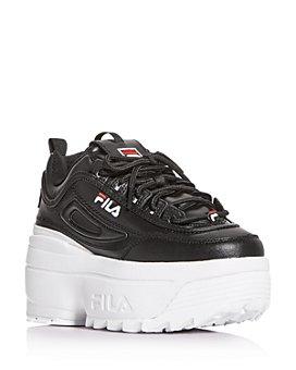 FILA - Women's Disruptor II Wedge Platform Low-Top Sneakers