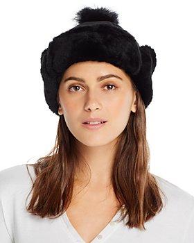 UGG® - Pom-Pom Shearling Hat
