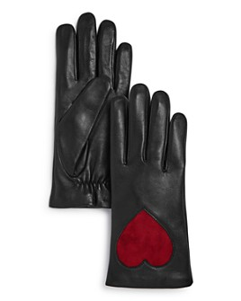AQUA - Heart Leather Tech Gloves - 100% Exclusive