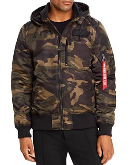 Alpha Industries - MA-1 Hooded Bomber Jacket