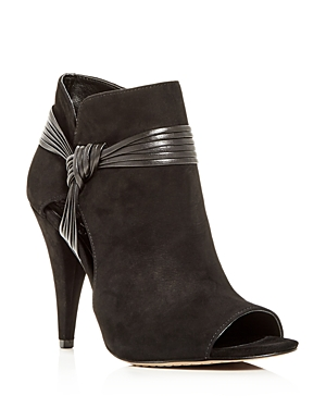 Vince Camuto Boots WOMEN'S ANNAVAY PEEP-TOE BOOTIES