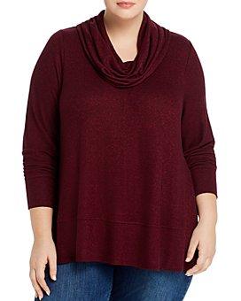 Cupio Plus - Cowl-Neck Sweater