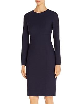 BOSS - Damola Long-Sleeve Sheath Dress