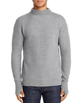 Barena - Cimador Ribbed Wool Turtleneck Sweater