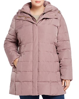 Cole Haan Plus - Quilted Puffer Coat