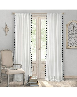 "Elrene Home Fashions - Bianca Semi Sheer Curtain Panel, 52"" x 84"""