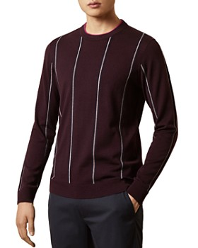 Ted Baker - Chikfee Striped Crewneck Sweater