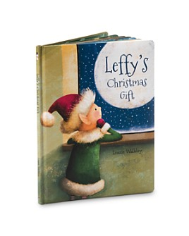 Jellycat - Leffy's Christmas Gift Book - Ages 0+