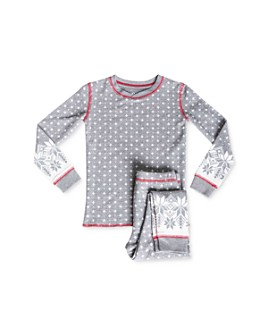 PJ Salvage - Girls' Fair Isle Tee & Pants Pajama Set - Little Kid, Big Kid